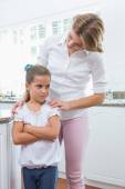 Mother and daughter after an argument — Stock Photo