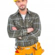 Confident manual worker — Stock Photo #68987375
