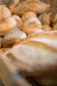 Delicious breads freshly baked — Stock Photo