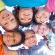 Little children smiling at camera — Stock Photo #69019451