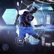 Composite image of football player — Stock Photo #69040599