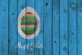 Composite image of happy easter — Stock Photo
