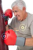 üst düzey boksör tespit — Stok fotoğraf
