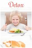 Little boy ready to eat pasta — Stock Photo