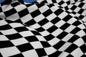 Composite image of checkered flag — Stock Photo