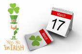 Image composite de shamrock — Photo