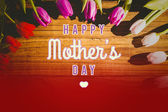 Mothers day greeting — Stock Photo