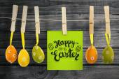 Happy Easter greeting — Stock Photo