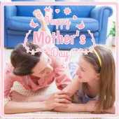 Composite image of mothers day greeting — Stock Photo