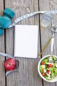 Healthy stuff for healthy lifestyle — Stock Photo