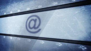 Email pixel design — Stok video