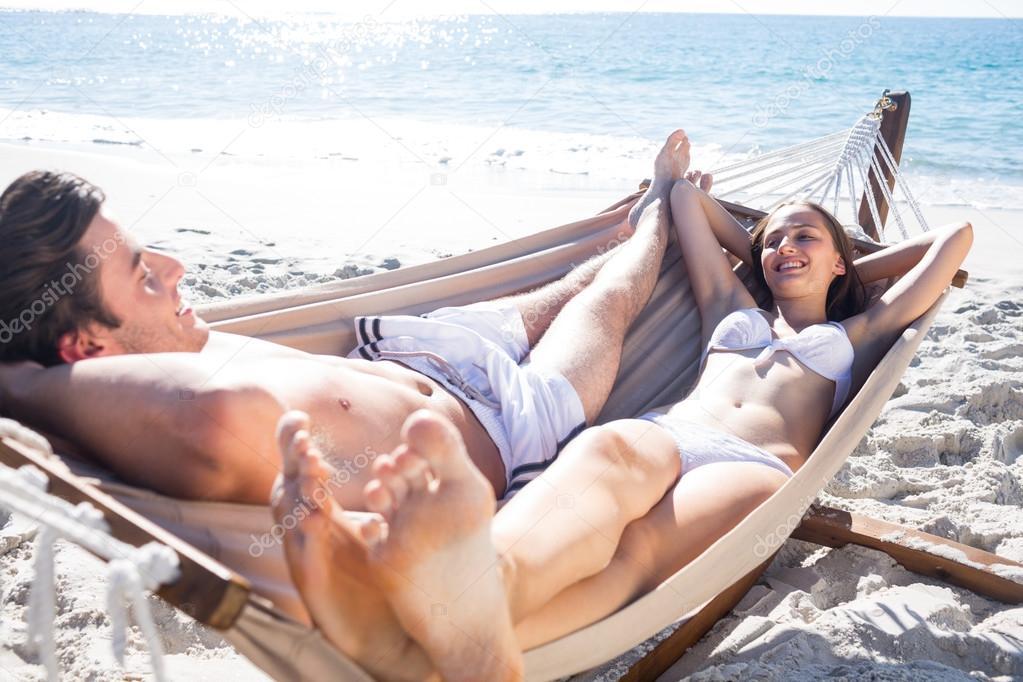 casal relajarse