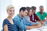 Creative business people in meeting — Stock Photo