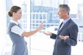 Business colleagues quarreling — Stock Photo