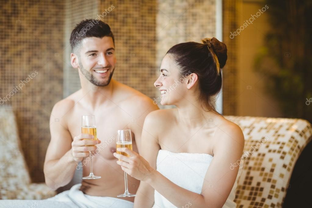 Romantiska Och Sexiga Par