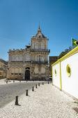 La calle en el centro histórico de faro portugal. — Foto de Stock