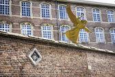 Gas Mask Angel - Gent, Belgium — Stock Photo