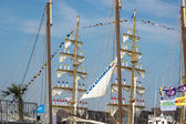 Port of Amsterdam, Noord-Holland/Netherlands - August 23-08-2015 — Stock Photo