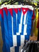 Cuban flags — Foto de Stock