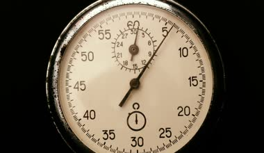 Old Stopwatch — Stock Video