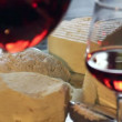 Cheese and wine — Stock Video #53798557