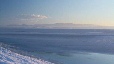 Frozen Lake — Stock Video
