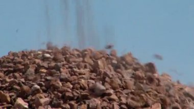 Pile of stone — Stock Video
