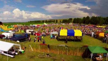 Linden tree festival — Stock Video
