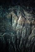 Mountain landscape in fann mountains, Tajikistan. weathered rock — Stock Photo