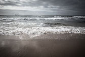Dramatic Atlantic coast at low tide — Stock Photo