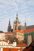 City view of Prague, the capital of the Czech Republic, View of — Stock Photo
