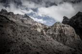 Pamir Mountains. Spring. Tajikistan — Stockfoto