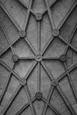 Väggen i en gammal byggnad med mönster. Tonas — Stockfoto