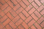 Cobbles in the form of bricks — Stock Photo