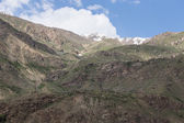 Mountains and clouds. Spring. Tajikistan — Stock Photo