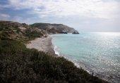 Petra tou Romiou, Aphrodite's birthplace. Paphos, Cyprus — Stock Photo