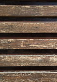 Background of the old of wooden laths — Stock Photo