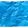 Crumpled blue paper — Stock Photo #58578183