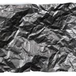 Crumpled black paper — Stock Photo #58578247