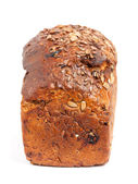 Brown bread with cereals — Stock Photo