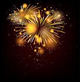 Firework — Cтоковый вектор
