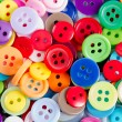 Background from of colorful round buttons — Stock Photo #74669539