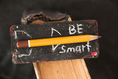 Be Smart concept — Stock Photo