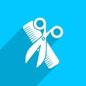 Hair salon tools — Stock Photo