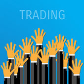Trade concept. — Stock Vector