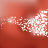 Vector hearts flat background. — 图库矢量图片