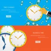 Time is money. — Stock Vector