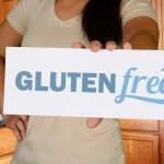Woman Gluten Free Shopping — Stock Photo #59903939