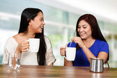 Friends Drinking Coffee — Stock Photo
