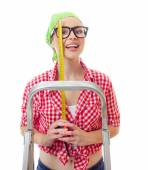 Woman home worker — Stock Photo
